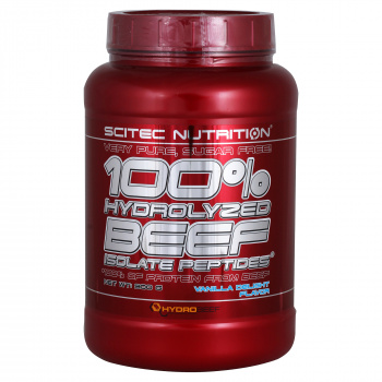 картинка SN 100% Hydrolized Beef Isolate Peptides 2lb. 900 гp.  от магазина